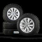 VW 17 Zoll Felgen Tiguan II 5NA Allspace Alufelgen Winterreifen Winterräder NEU