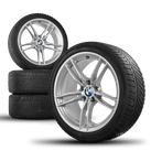 BMW M3 F80 M4 F82 F83 19 inch aluminum rims winter tires winter wheels styling