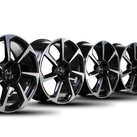 Audi 20 Inch Rims TT TTS TTRS 8S Alloy Rims Rotor 8S0601025CD 9,0 x 20 ET52 NEW