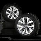 VW 20 Zoll Touareg III CR Montero Winterreifen Winterräder 760601025C 7 mm