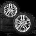 Audi 18 Zoll Felgen A4 S4 B9 8W Alufelgen Pirelli Winterreifen Winterräder 6 mm