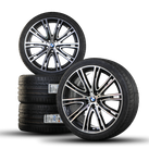 BMW 5 series G30 G31 20 inch aluminum rims rims summer tires styling 759i