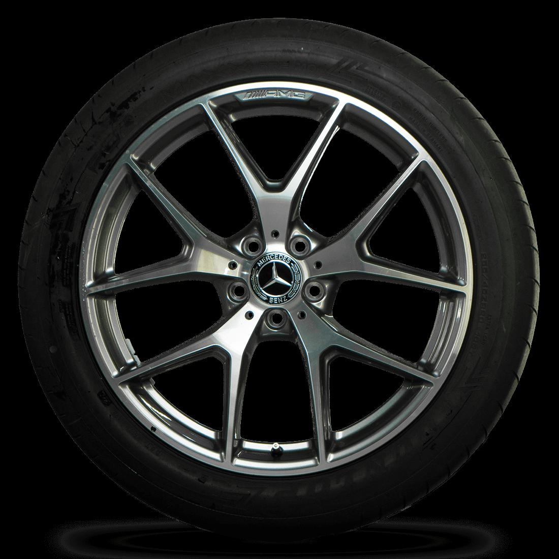 AMG 20 inch rims Mercedes GLC X253 C253 facelift aluminum rims summer wheels NEW