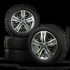 Mercedes Benz 17 Zoll Felgen C-Klasse W205 S205 Winterreifen Winterräder