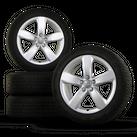 18 inch aluminum rims winter tires Audi A6 S6 4G rims 4G0601025M winter wheels