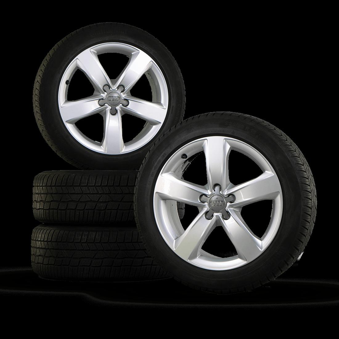 18 Inch Tires >> 18 Inch Aluminum Rims Winter Tires Audi A6 4g Winter Wheels S Line Winter Wheel