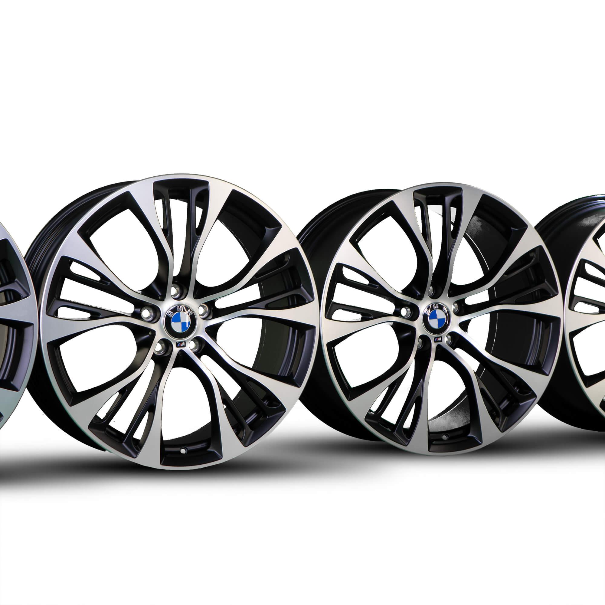 4x Bmw X3 F25 X4 F26 21 Pulgadas Con Llantas De Aluminio 6861374 6861375 Llantas Styling M599 Nuevo Ebay