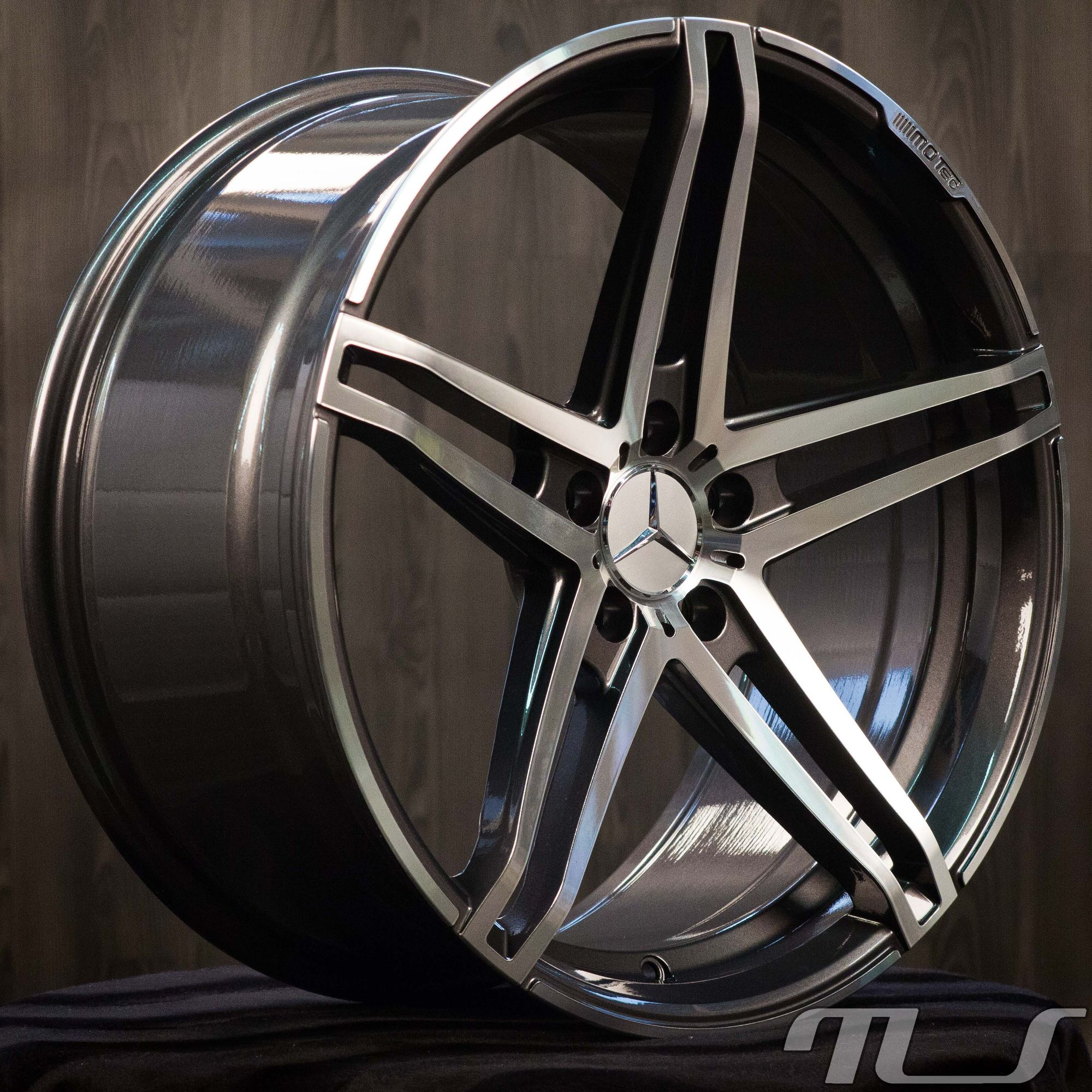 19 inch alloy wheels for mercedes benz a b c e cls class for Mercedes benz wheel