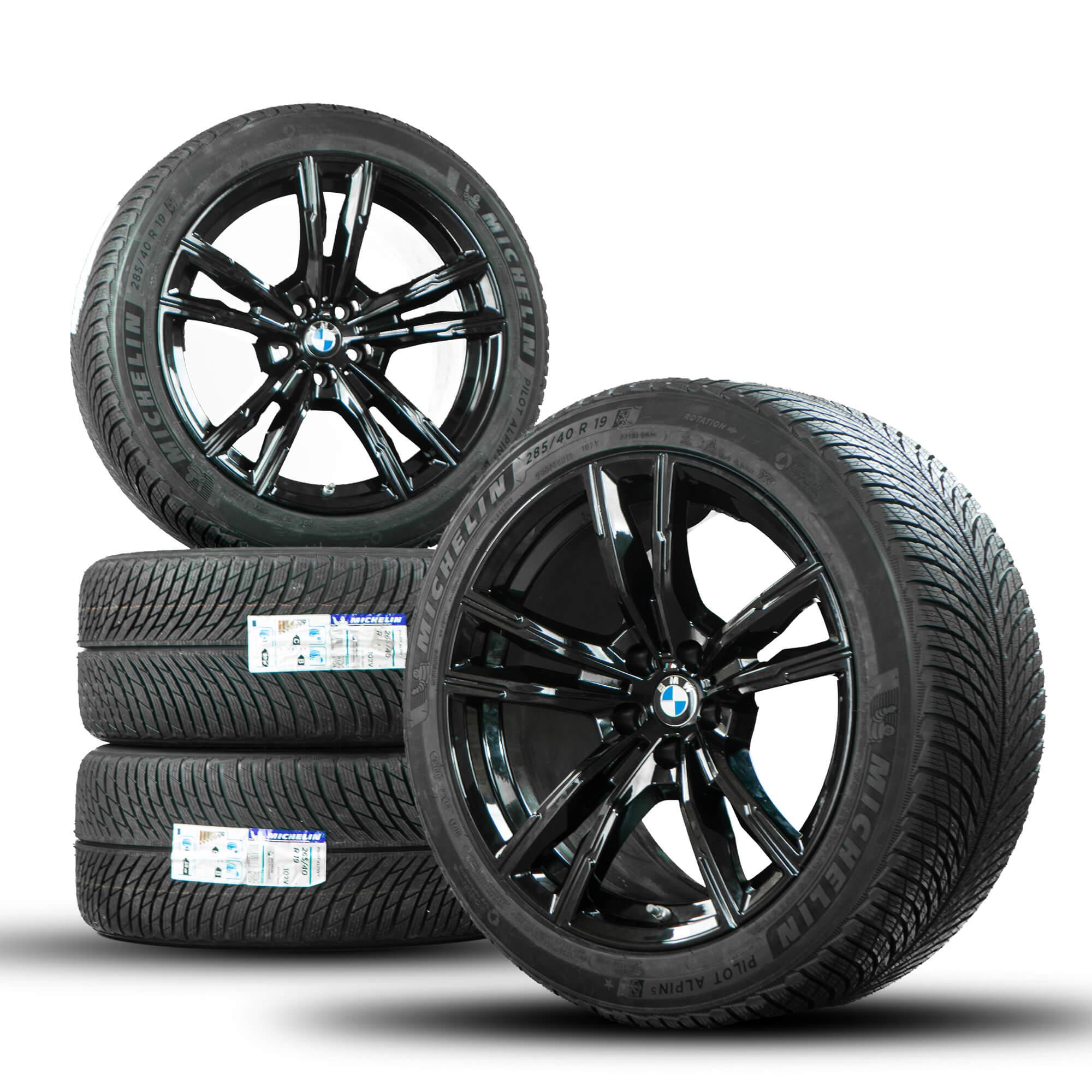 Bmw 19 Inch Rims M8 Coupe F91 F92 F93 M812 Winter Tires Winter