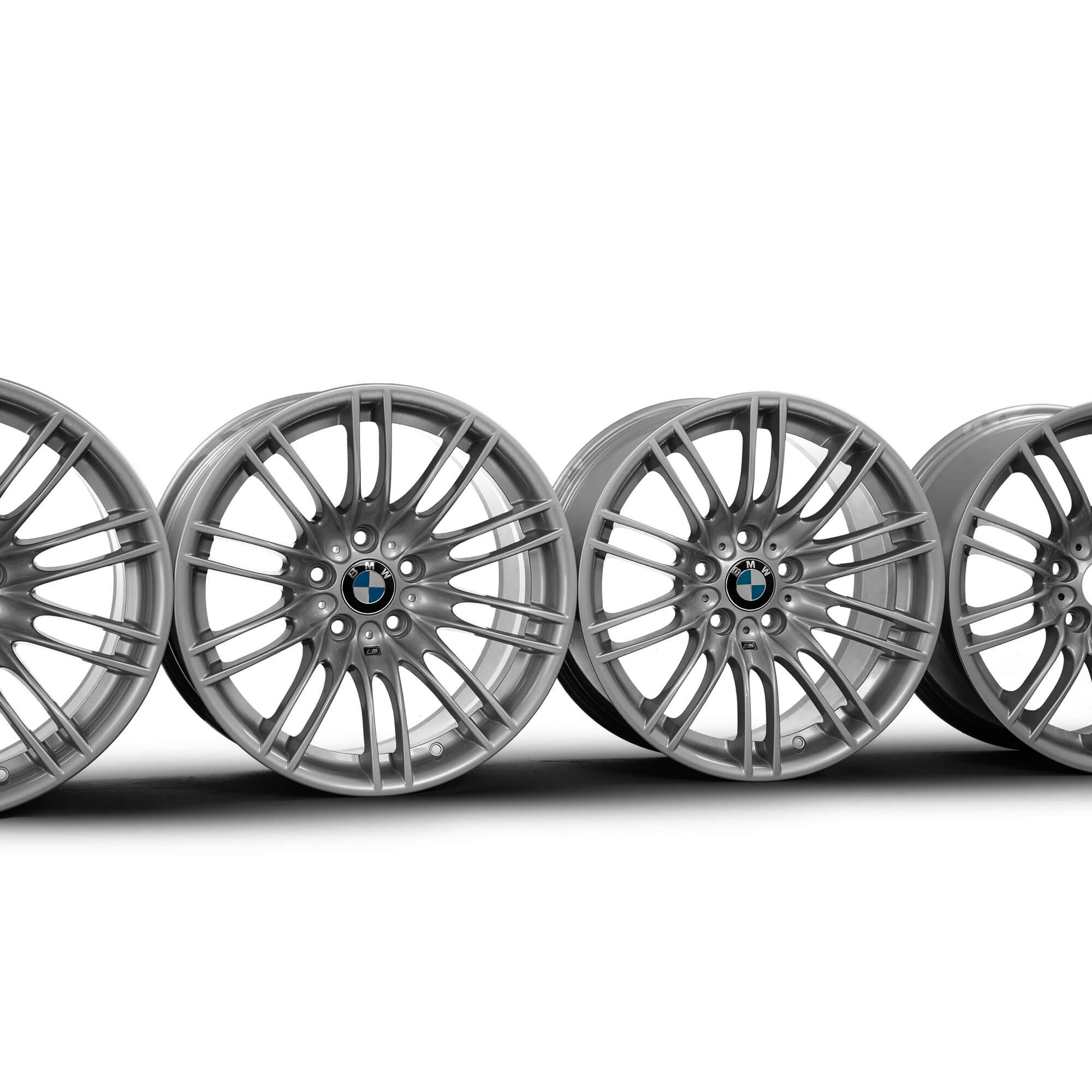 4x Bmw 18 Inch Rims 3er E90 E92 E93 Styling M260 2284504 2284505