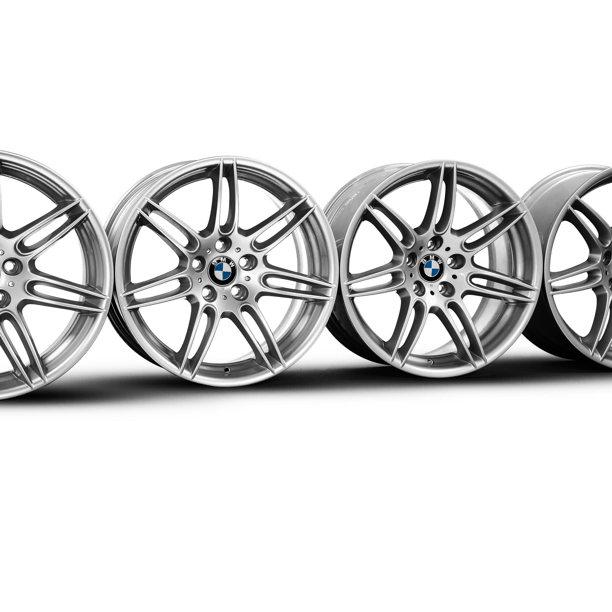 4x Bmw 19 Inch Rims 7 Series E65 Alloy Rims 7841375 7841376