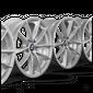 BMW 17 inch alloy wheels 5 series G30 G31 6 series GT G32 7 series G11 G12 1