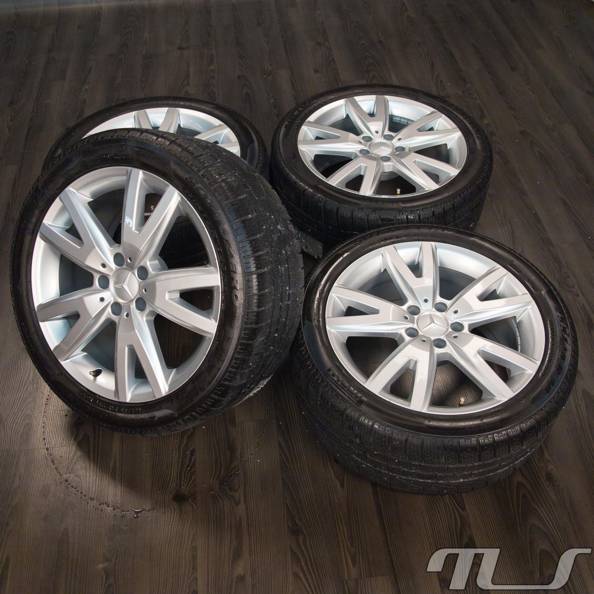 Mercedes benz cls class c218 x218 18 inch alloy wheels for Mercedes benz winter tires