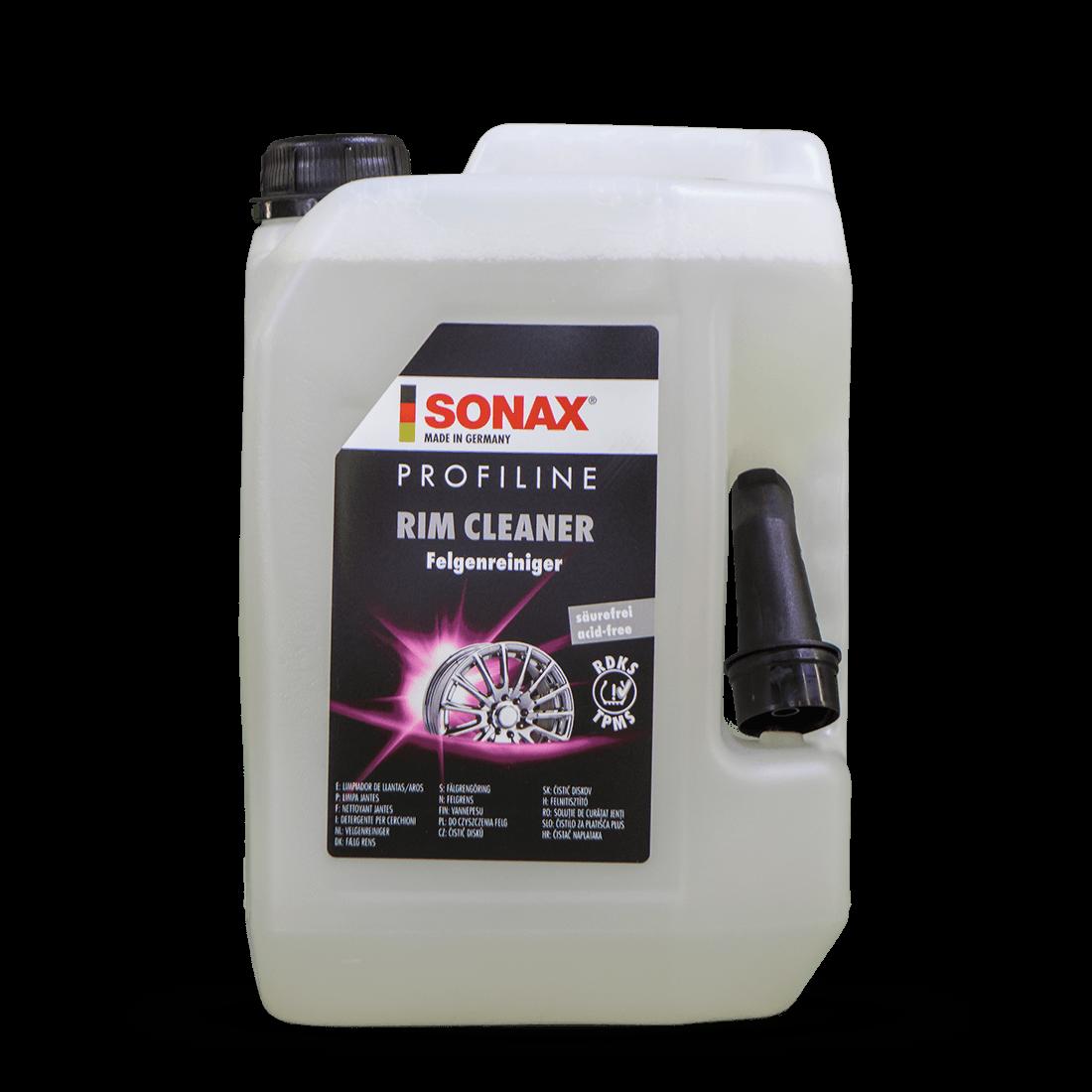 SONAX 02305000 Profiline FelgenReiniger säurefrei 5 Liter