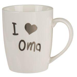 Kaffeebecher I love Oma