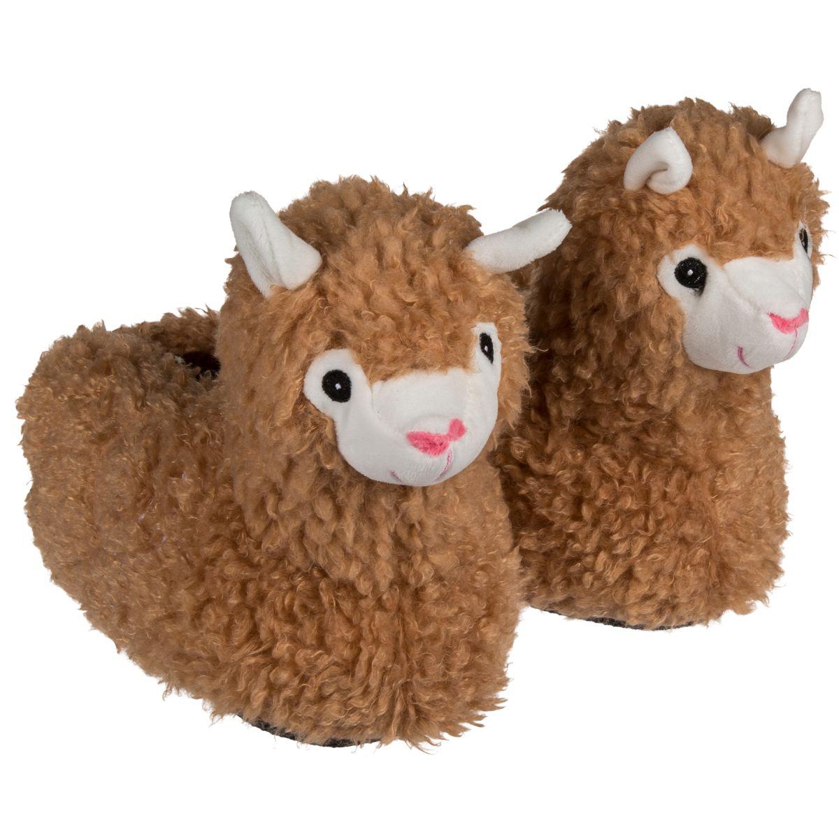 check out b30d7 d9d8e Plüsch Hausschuhe Lama für Kinder | Größe: 31/32