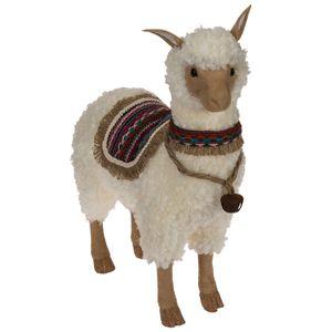 Deko Lama flauschig 49,5 cm