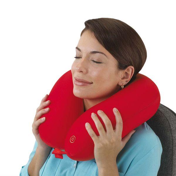 Nacken-Massagekissen mit Micropellet-Füllung 3 Farben zur Auswahl
