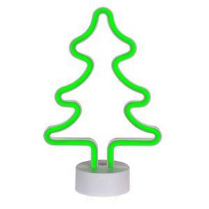 Weihnachtsdeko LED-Leuchte Tannenbaum neon-grün