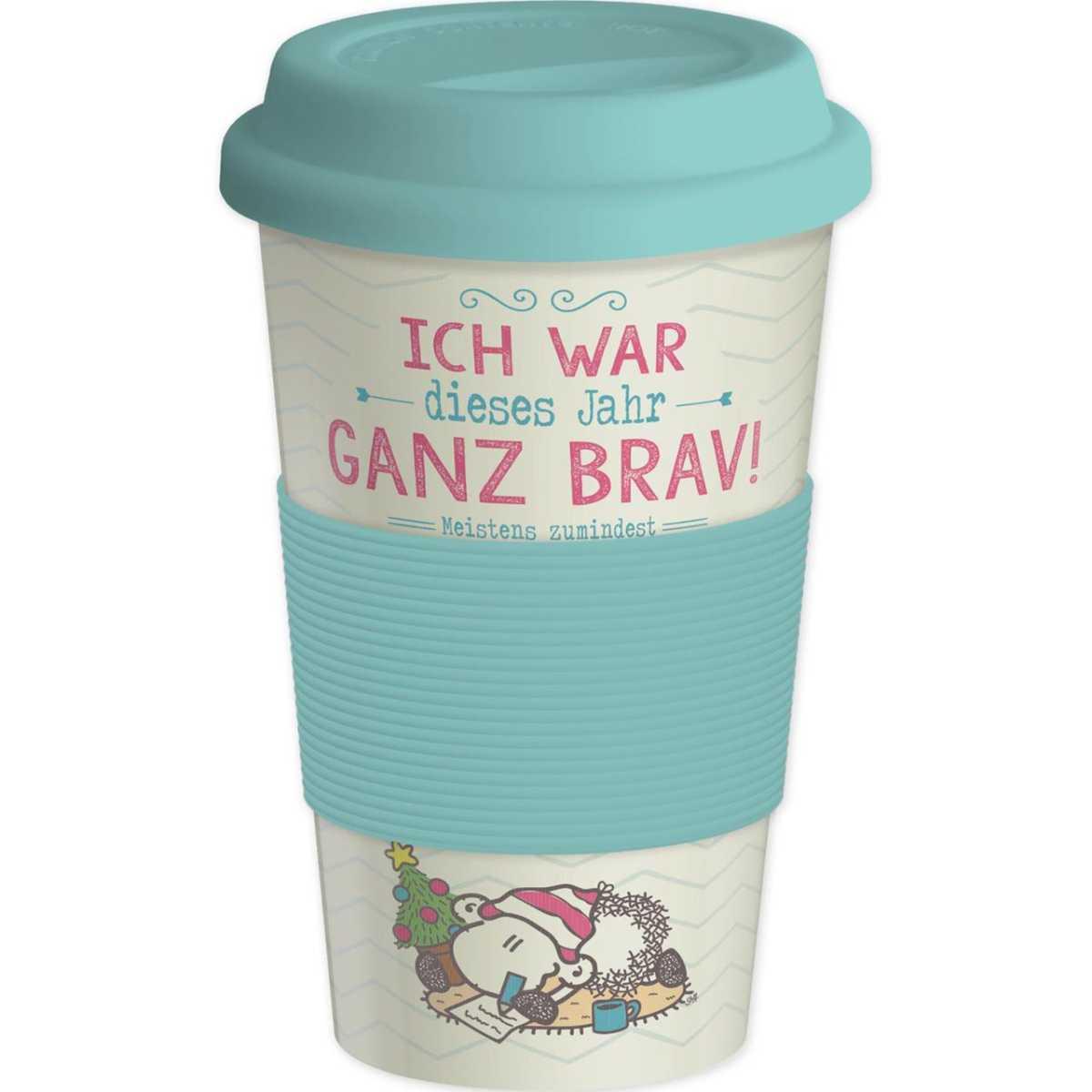 Sheepworld Bambus Kaffeebecher To Go Ich War Ganz Brav 400 Ml