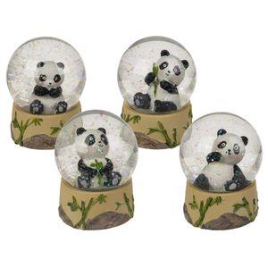 Schüttelkugel Sitzender Panda