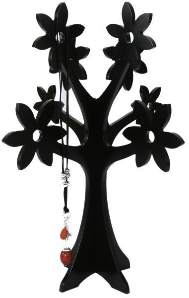 XXL Schmuckbaum Holz schwarz oder weiß