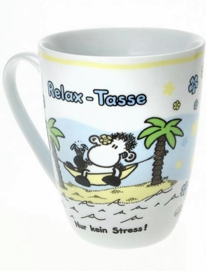 Sheepworld Lieblingstasse Relax - Tasse