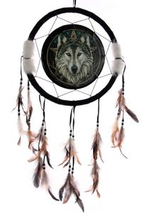 Traumfänger Keltischer Wolfskopf versch. Größen