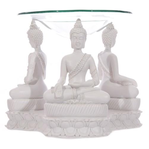 Duftlampe Thai Buddha Weiss