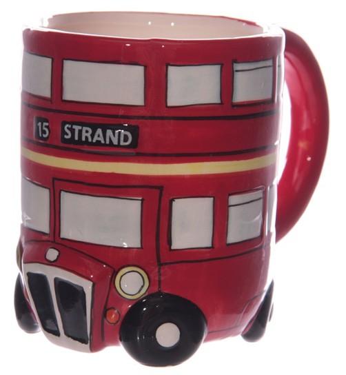 London Doppelstockbus Kaffebecher LON47