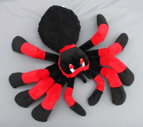 Plüschtier Spinne rot oder lila in 2 Größen