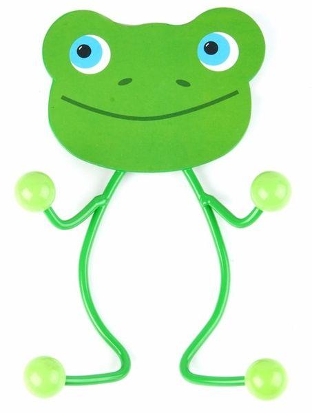 Kinder Wandgarderobe Frosch mit 4 Haken