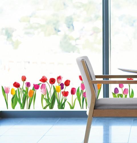 Fenstersticker XXL Tulpen