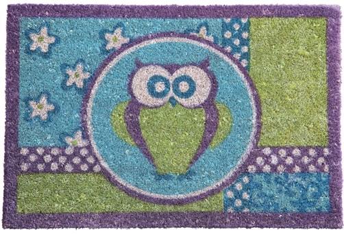 Kokos Fußmatte Owl