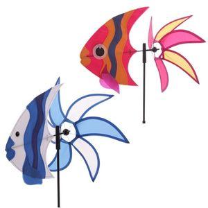 Windmühle Tropischer Fisch | Rot