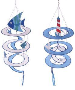 Strandmobile Windhänger Maritim | Fische