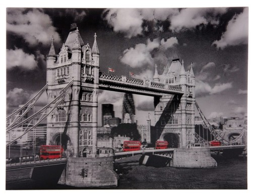 3D Bild London Tower Bridge 29,5 x 39,5 cm