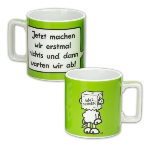 Sheepworld Wortheld Tasse NICHTS