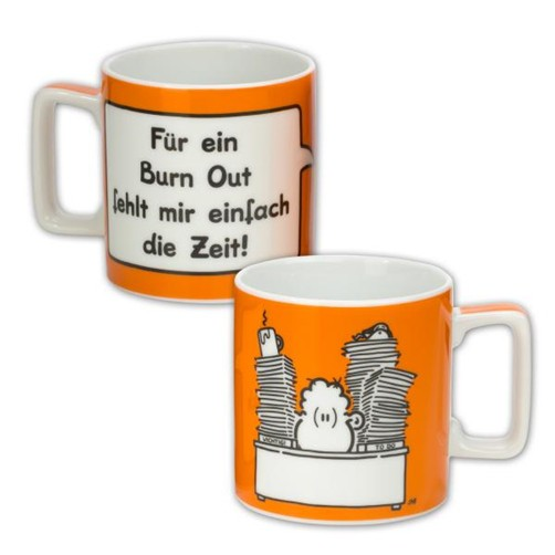 Sheepworld Wortheld Tasse BURNOUT