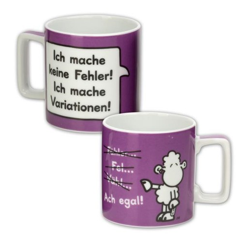 Sheepworld Wortheld Tasse FEHLER