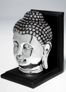 Buchstütze Buddha Kopf
