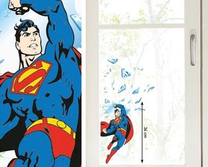 Kinder Fenstersticker Superman