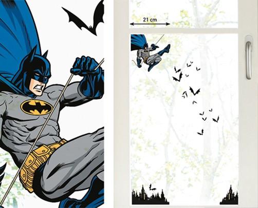 Kinder Fenstersticker Batman