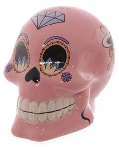 Totenkopf Spardose Day of the Dead | Blau