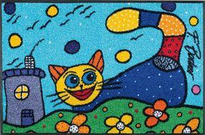Wash+dry Fußmatte Katze Catch Me
