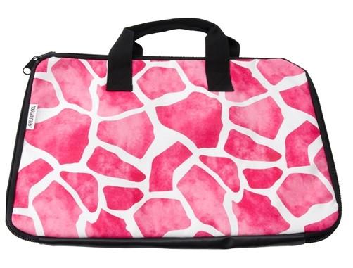 Laptoptasche Giraffe pink