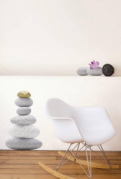 wandtattoo zen steine wandsticker zen garten ebay. Black Bedroom Furniture Sets. Home Design Ideas