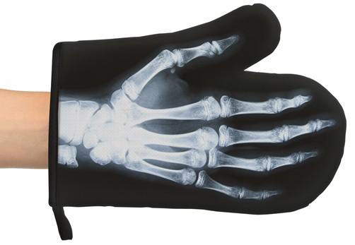 Röntgen Ofenhandschuh Bones