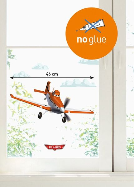 Kinder Disney Pixar Fenstersticker Planes