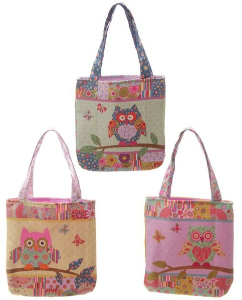 Niedliche Eulen Shopping Bag S
